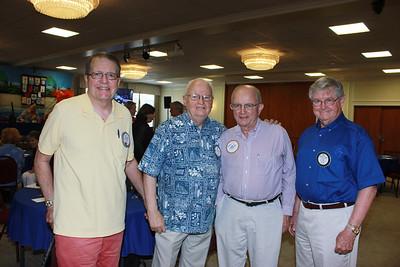 Will Bortz, Orville Houg, Larry Jones and Bill Payne
