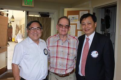 C  Joseph Chang, Wayne Carter and Dr  Richard Sun
