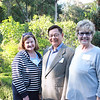 Mabel Bendiksen, Dr  Hai-Sou Chen and Sue Spence
