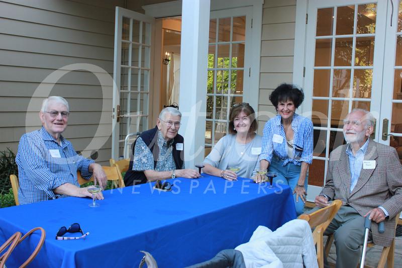 Cal Taylor, John Harris, Susan Hoover, Karen Taylor and Merrill Frances