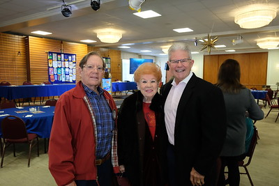 Wayne Carter, Lucille Norberg and Gene Orlowsky