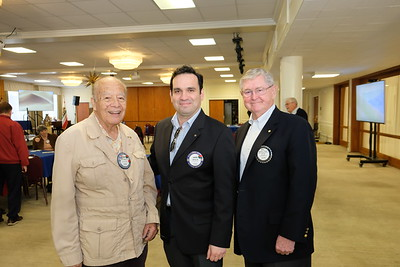 Robert Almanza, Aaron Gil and Bill Payne