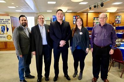 Aaron Gil, Bryan Hathorn, Bulgantamir Enkh-Erdene, Ginny Hsiao and Andrew Kindler