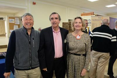 Issac Hung, Dennis Magrdichian and Stephanie Johnson
