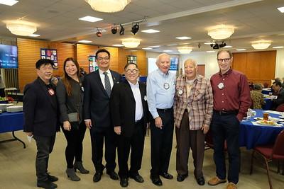 Jesse Hong, Ginny Hsiao, John Chang, C. Joseph Chang, John McClurg, Robert Almanza and Georg Eittinger