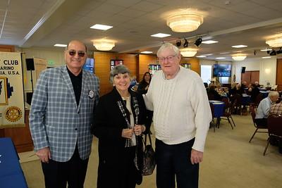 Teddy Basseri, Lois Matthews and Emile Bayle