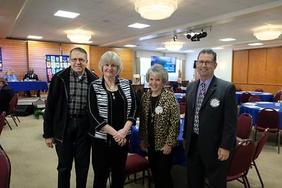 Wil Bortz, Jean Brodhead, Lois Derry and Steve Sciurba