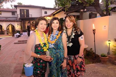 Nancy Lee, Maggie Lee and Luyi Khasi