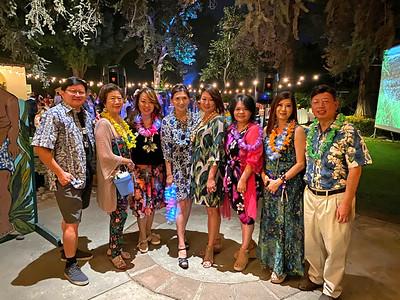 Chinese Club of San Marino members David Wang, Nancy Lee, Luyi Khasi, Erica Chiang, Jennifer Wi, Chun-Yen Chen, Maggie Lee and Johnson Shyong