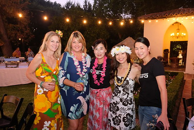 Parent Party decor committee members Lizze Slocum, Marci Wendling, Alice Song-Ulrich, Cindy Metcalfe and Doris Chung