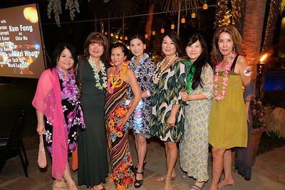 Chun-yen Chen, Lisa Wang, Judy Tsai, Erica Chiang, Jennifer Wi, Kristy Ho and Mei Mei Liu