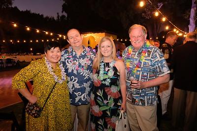Ruth Walker, Cory and Jennifer Barberie, and Bob Houston