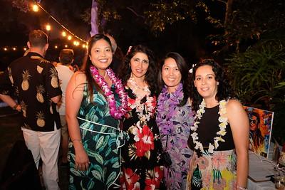 Malia Aberin, Homeira Asghari, Jennifer Chuang and  Danielle Gregg