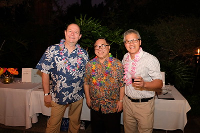 Corey Barberie, C. Joseph Chang and Tommy Tang