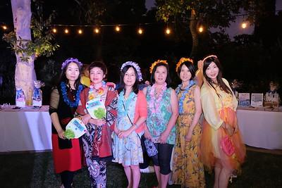 Sophia Zheng, Tiffany Li, Sara Liu, Angel Tse, Penny Pei and Phoenix Cai