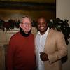 Dennis Kneier and SMHS Principal Issaic Gates