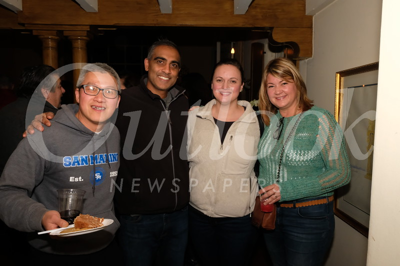 Tommy Tang, Faizal and Juliet Enamaullee, and Marci Wendling