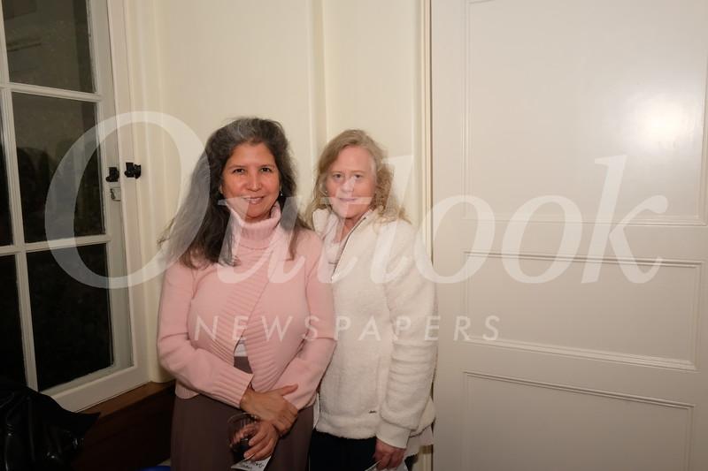 Ruth Roberts and Mindy Cronk