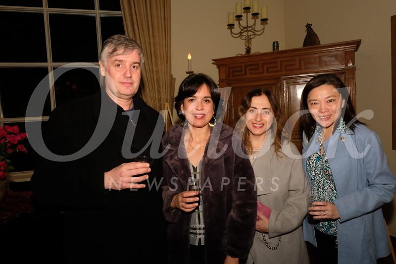 Eduardo and Carla Repetto, Victoria Petrosyan and Liz Kay Im
