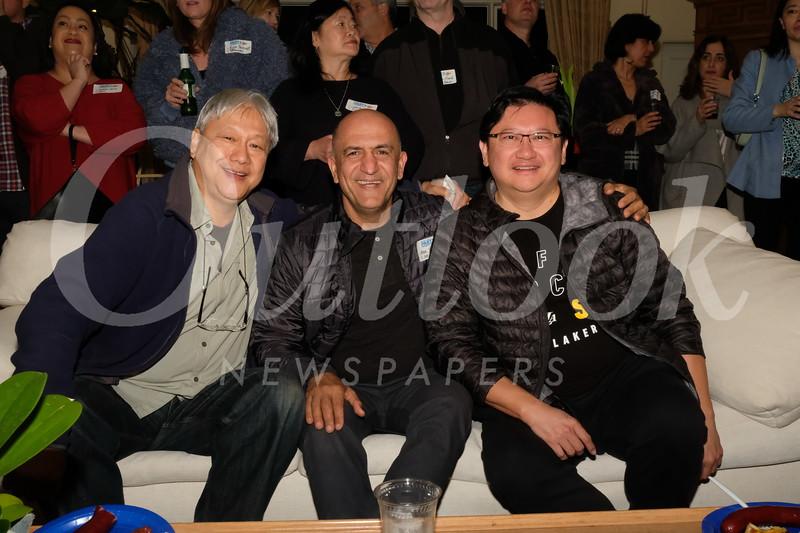 Daryl Chan, Mazi Yarahmadi and David Wang
