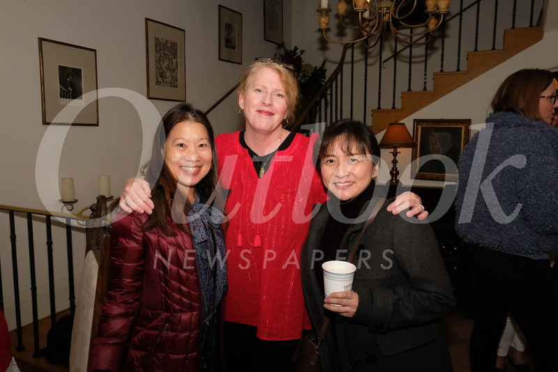 Carolyn Broderick, Kelly Manning and Magnolia Ycasas