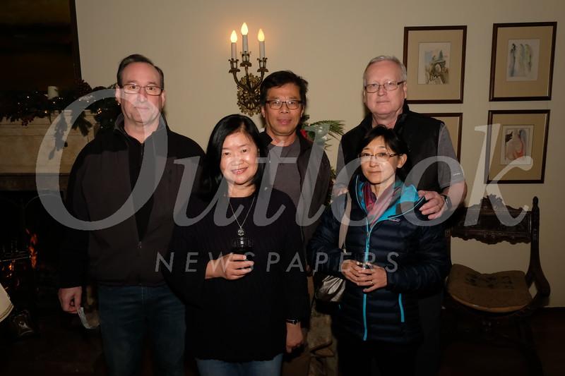 Kieran and Josie Hand, David Phung, and David and Keiko Jacques