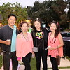 Tony and Jasmin Tsai, Rebecca Lin and Cindy Wong