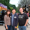 Lisa and David Wang with Michael Killackey