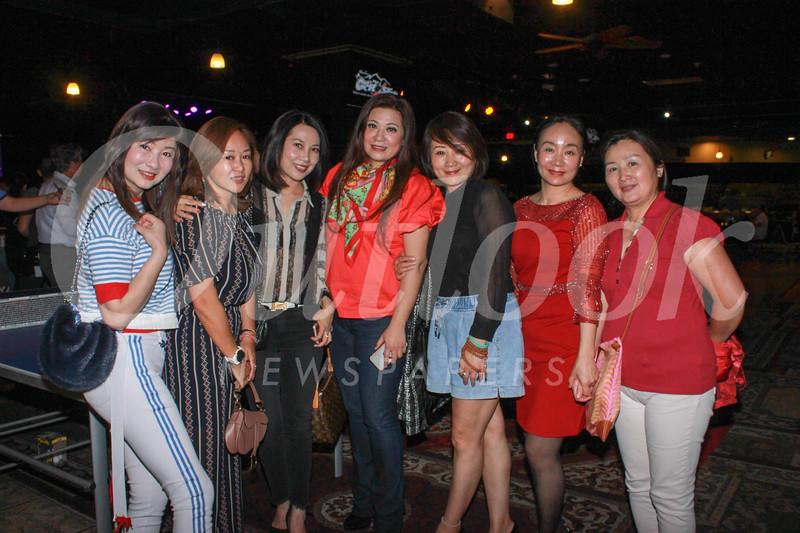 Fengxiang Cai, Joy Chen, Vivian Tan, Sylvia Koh, Yang Xiao Shuang, Summer Wu and Eva Hu