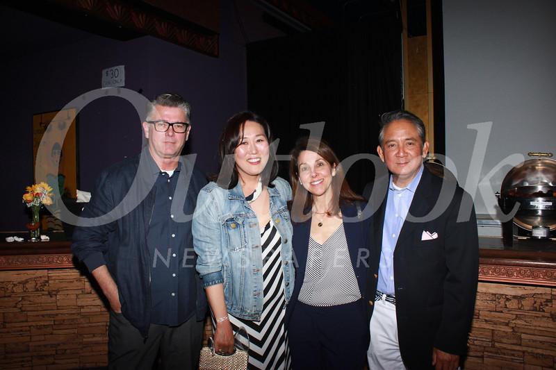 Dean and Diana Glasse, Lauren Gordon and Maurice Saldebar