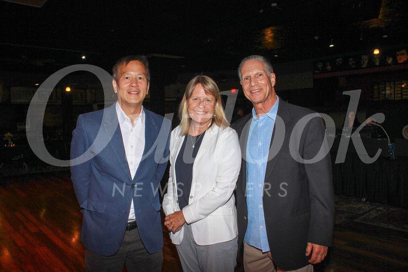 Peter Koh, Lisa Link and Loren Kleinrock