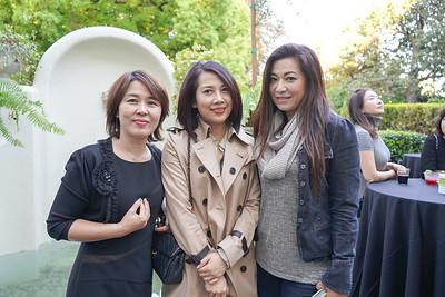 Jenny Kang, Vivian Tan and Sylvia Koh