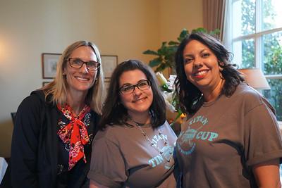 Renee Olson, Yvette Nikoui-Smith and Christina Pink