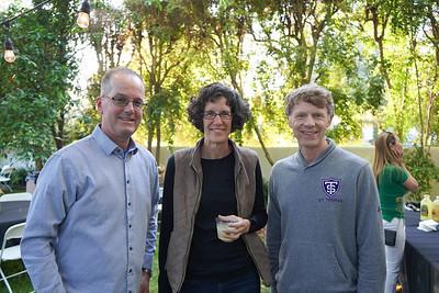 John Ryan, Kim Siegmund and Todd Olson