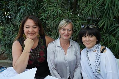 Rosa Madrigal, Petra Goldsmith and Angela Liang