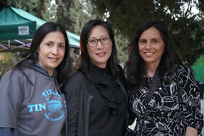 Gabrielle Carlton, Helen Spitzer and Francyn Duenas
