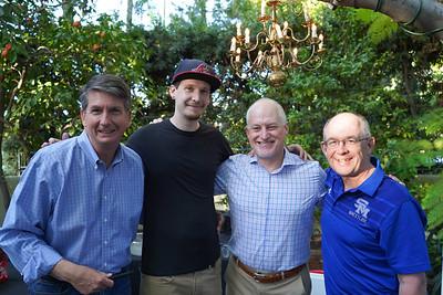 Dave Bell, Drew Pratt, John Ramsay and Fred Sohl