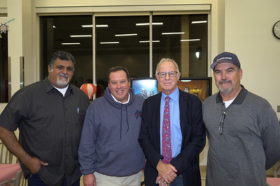 Gil Cardenas, Garry Woods, Ian Corrie and Cesar Gutierrez