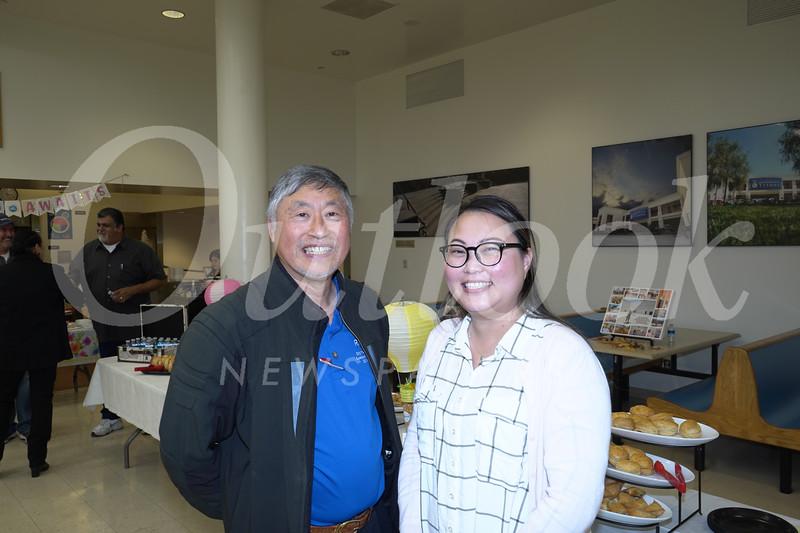 Isaac Hung and Annie Chen