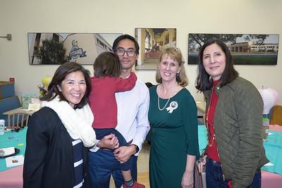Tina Siu, James Lau, Julie Boucher and Lisette Moggio