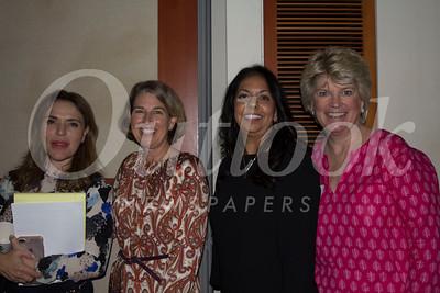 IMG_0263 Nayrie Balian, Ann Boutin (President), Christina Pink and Nancy Peardon