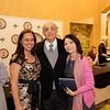 Principal Alma Cornejo with Manuel and Dora Olaiz