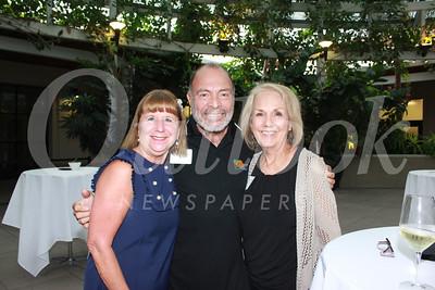 7995 Marlene Evans, George Romero and Connie Moran-Romero