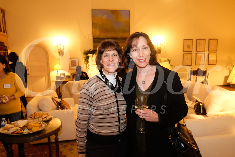 Valerie Weiss and Connie Knott