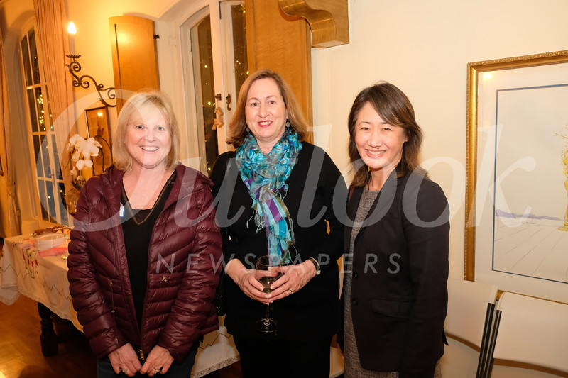 Debbie Day, Patricia Thvedt and Michelle Lee
