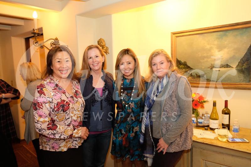 Diana David, Carolyn Seitz, Lonnie Sanok and Eileen Hale