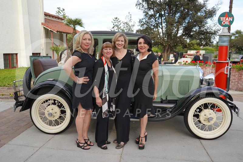 Gretchen Shepherd Romey, Marlene Evans, Debra Spaulding and Shana Bayat