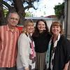 Robert Evans, Michelle Wien, Sarah Evans and Marlene Evans