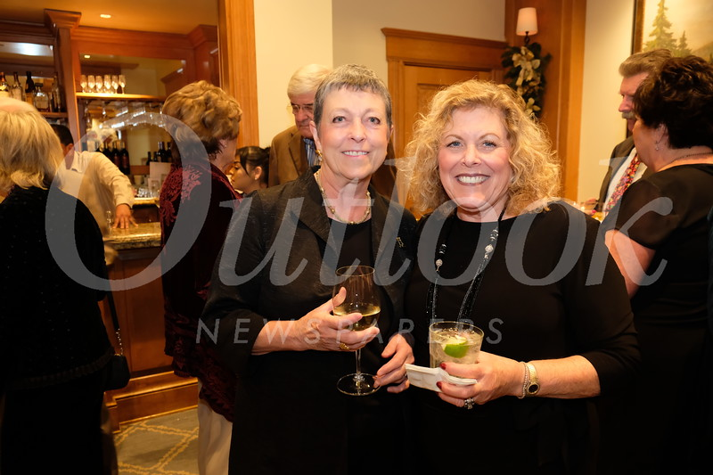 Charlotte Harrison and Joy Sullivan.