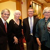 Ben and Robin Stafford, David Crandon and Margaret Quigley